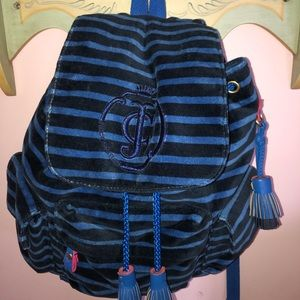 Juicy Couture Velvet Backpack